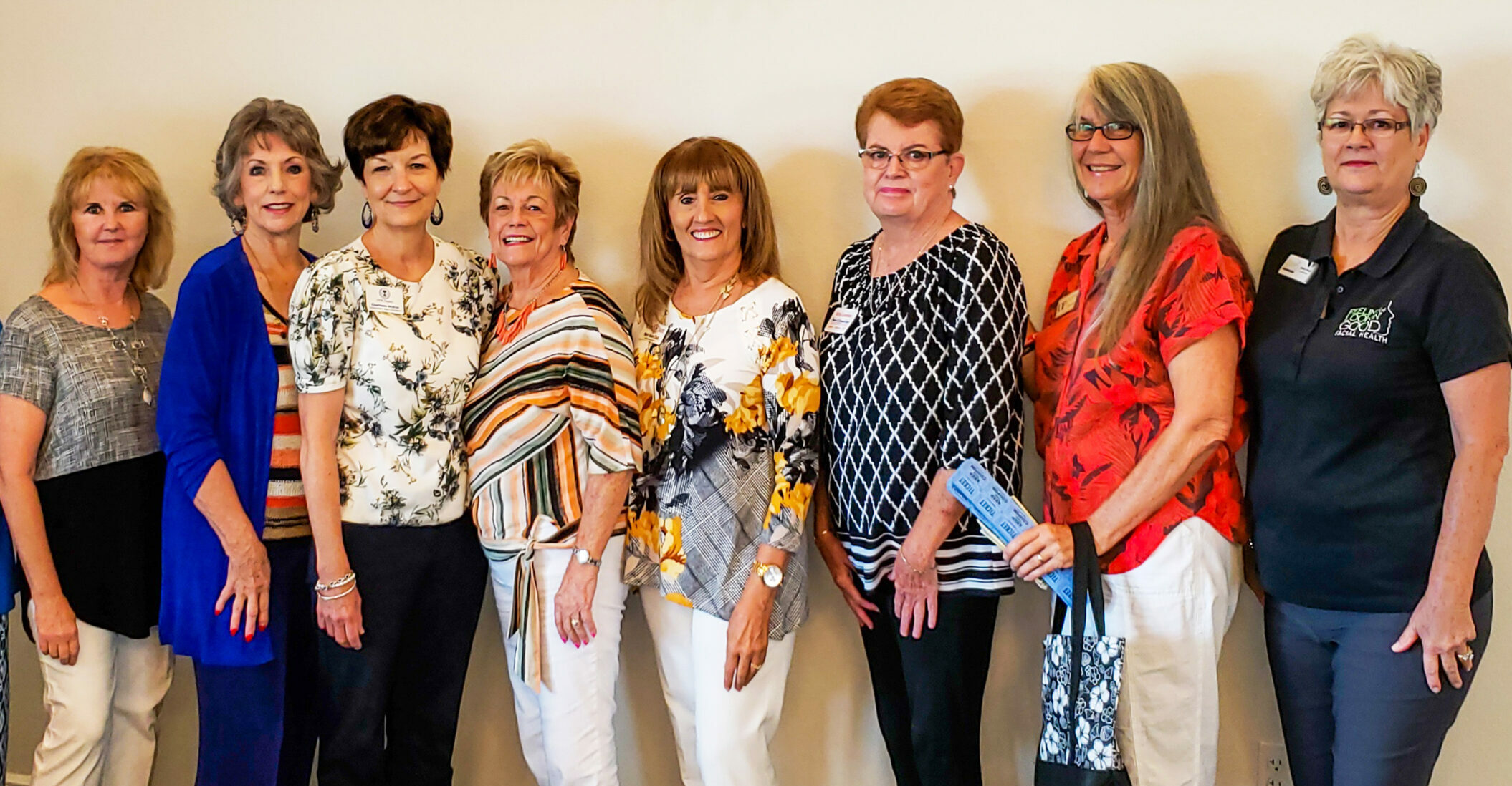 WNC Board: Judy, Anne, Charlene, Mary Ann, Mary Adele, Kitty, Kay and Debra